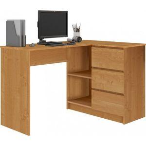 Počítačový stôl B16 pravá jelša