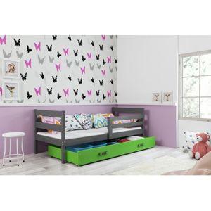 Detská posteľ s výsuvnou posteľou ERYK 190x80 cm